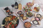 Fish Meze Served at the Sienna Restaurant in Paphos, Cyprus