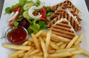 Sandwiches and Light Meals Served at the Sienna Restaurant in Paphos, Cyprus