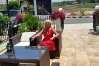 Relax for a Drink at the Sienna Restaurant in Paphos, Cyprus
