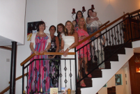 Hen Party at the Sienna Restaurant in Paphos, Cyprus